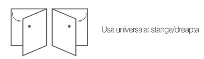 Dulap coloana universal Mocca Cersanit