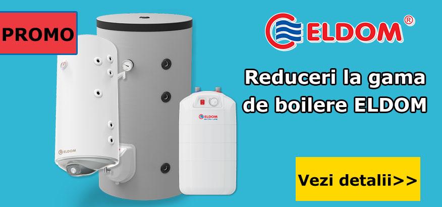 Reduceri la gama de boilere ELDOM