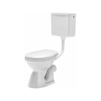 Set WC Roma iesire laterala cu rezervor si capac plastic Cersanit