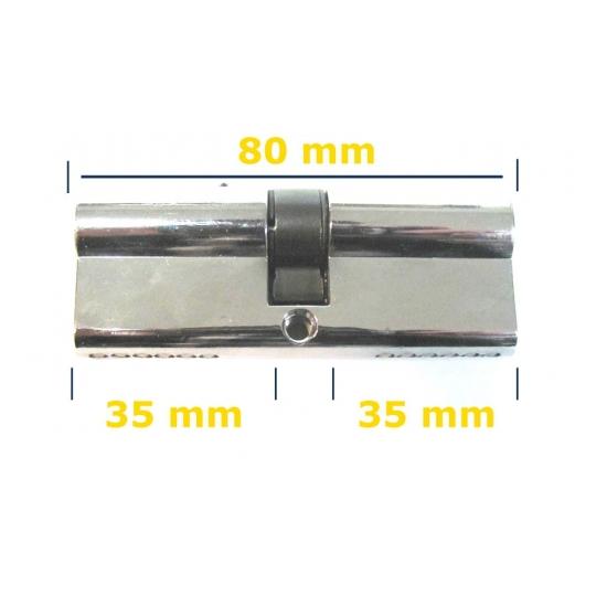Butuc yala usa metalica 80 mm