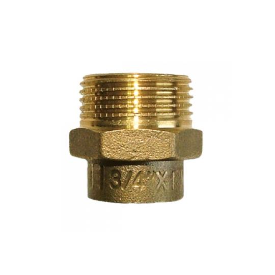 Conector FE 15x3/8 Bronz
