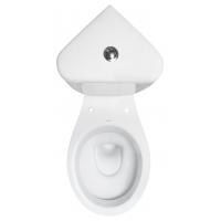 Vas WC set compact iesire laterala President pe colt Cersanit