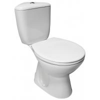 Vas WC set compact iesire verticala President pe colt Cersanit