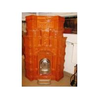 Soba din teracota, model Sf Gheorghe, culoare Alun