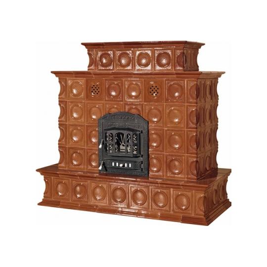 Soba din teracota, model Prometeu, culoare Maro