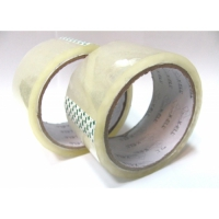 Set banda adeziva transparenta 48 mm, 50 ml-6 buc