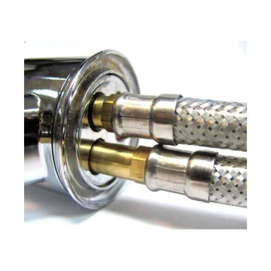 Set 2 racorduri flexibile baterii monocomanda 1/2 FLEXPRO-80 cm