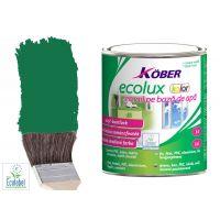 Vopsea pe baza de apa Ecolux Kolor Verde RAL 6016 0.75 l Kober