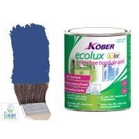 Vopsea pe baza de apa Ecolux Kolor Albastru 0.75 l Kober
