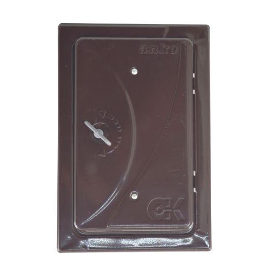 Usa pentru cos fum 280x160 mm