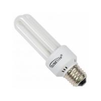 Bec economic 2U Novelite E27 15W, lumina rece, 6000 ore