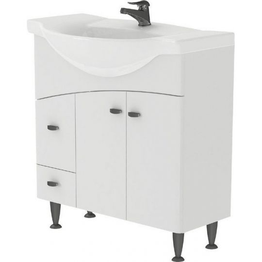 Lavoar pentru mobilier Cersanit Libra 80 cm