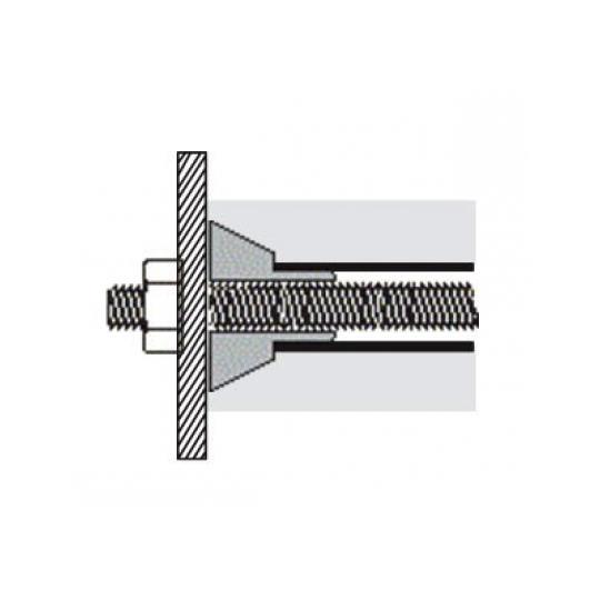 Con tip 1 pentru tub 22 mm, H 15 mm