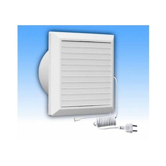 Ventilator baie cu jaluzea si intrerupator fir 125