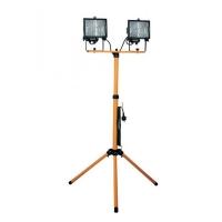 Proiector 2x500W cu suport telescopic Total Green