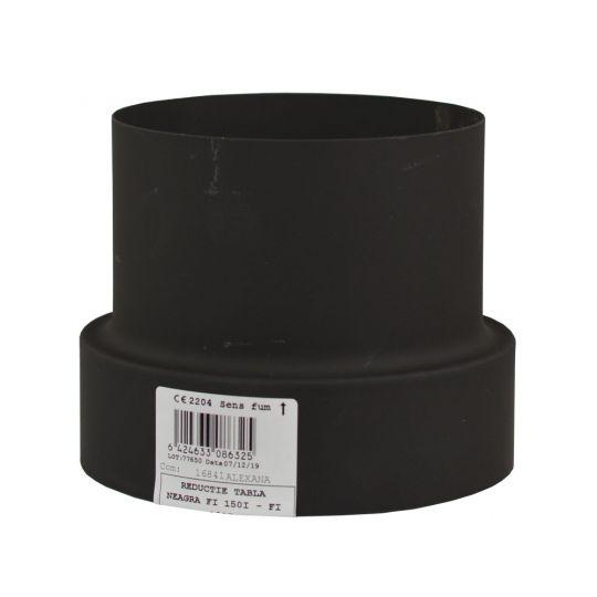 Reductie burlan vopsita 150-130 mm