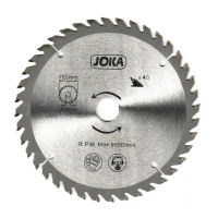 Disc vidia circular 125x22.2/20/16, Z40 Joka