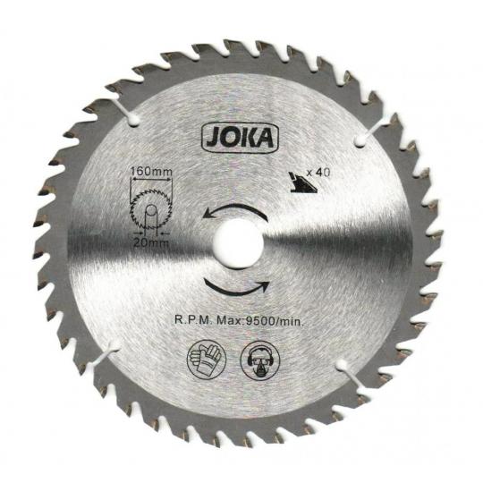 Disc vidia circular 180x22.2/20/16, Z40 Joka