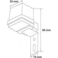 Fotosenzor 6A/max 1000W IP44 Total Green
