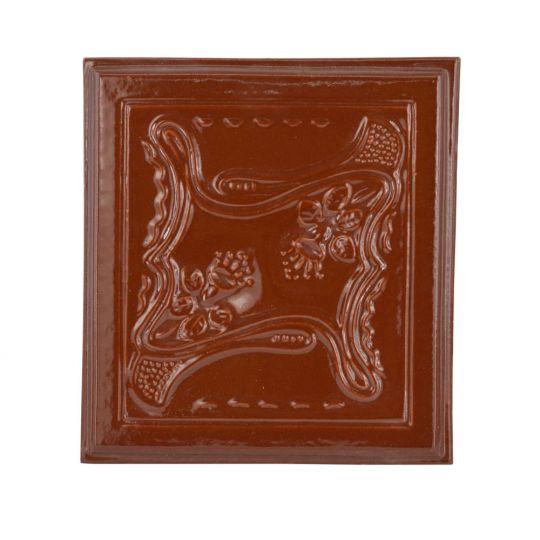 Placa soba teracota Clopotel Maro