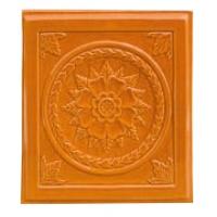 Placa soba teracota Floral Alun