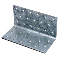 Coltar perforat 90 grade Tip 1- 80x80x140x2.5 mm
