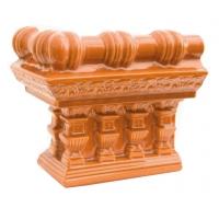 Colt cornisa cupola soba teracota Alun