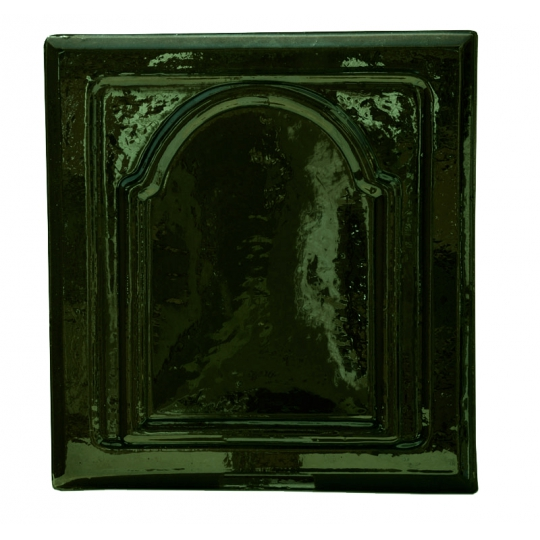 Placa soba teracota Bizantin Verde