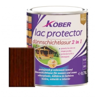 Lac protector 2 in 1 palisandru 0,75 l Kober