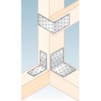 Coltar perforat 90 grade Tip 1- 120x120x120x3.0 mm