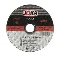 Disc debitare Joka metal EN12413 - 125x1 mm