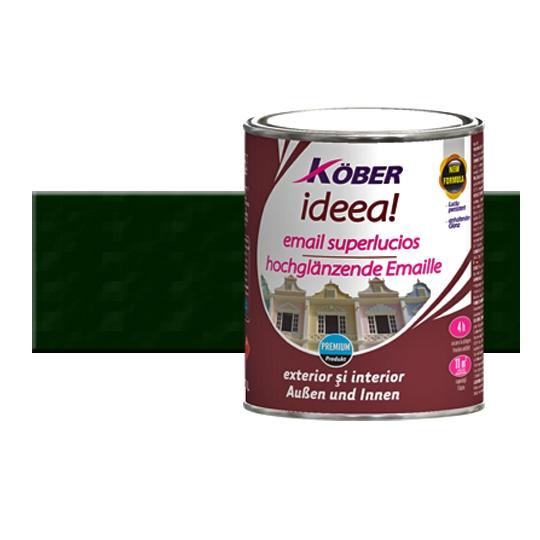 Vopsea Ideea Verde Mediu 4 l Kober
