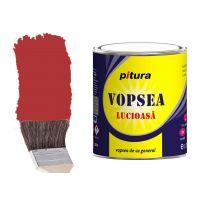 Vopsea Pitura Rosu Inchis 4 l Kober