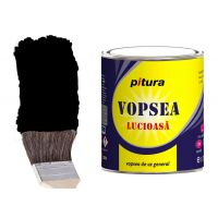 Vopsea Pitura Negru 4 l Kober
