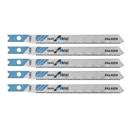 Set 5 panze pendular metal basic for metal Falken, prindere Black Decker