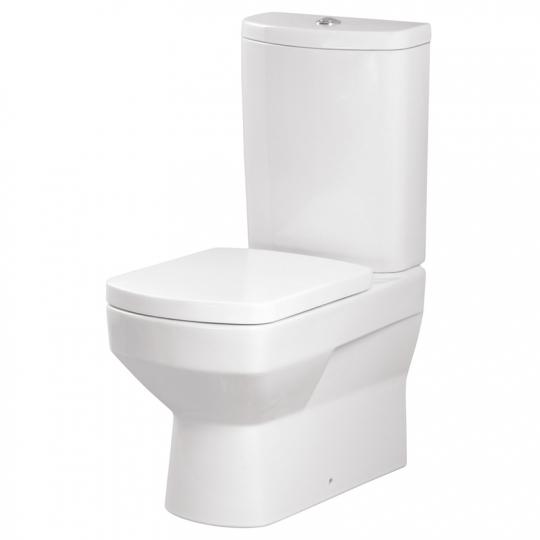 Vas WC compact Pure antibacterian Pure Silverit, universal Cersanit (capac separat)
