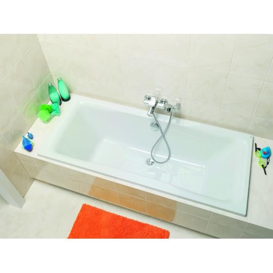Cada de baie Cersanit Pure 160x70 mm antibacterian + set picioare inclus