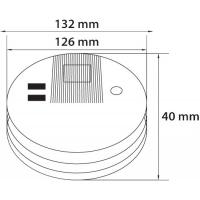 Detector fum fotoelectric Novelite