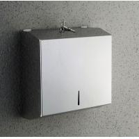 Dispenser servetele hartie, inox , inchidere prin cheie , 280x100x265 mm Cleanmann