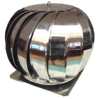 Terminal rotativ inox 200 mm, cu talpa 30x30 cm