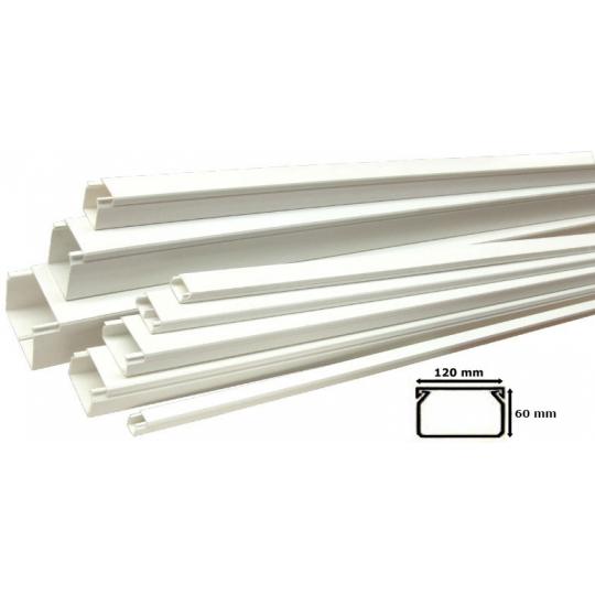 Canal Cablu PVC 120x60 mm - 2 m Novelite