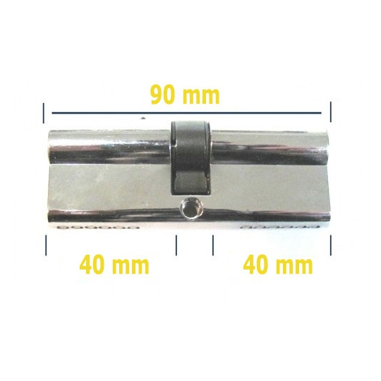 Butuc yala usa metalica 90 mm egal
