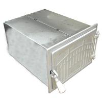 Cuptor soba mare 350x260x410 Oven Modern, argintiu
