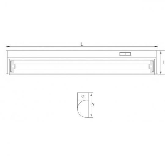 Corp neon reglabil FINES 13W TG-3113.01