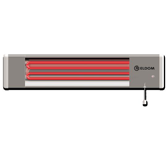 Radiator infrarosu 2x900W Eldom IR1800