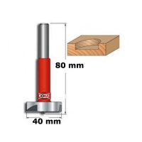 Freza cilindrica vidia, diametru 40 mm Joka