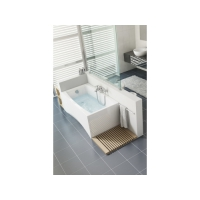 Cada de baie acril Cersanit Virgo 160x75 cm + set picioare inclus