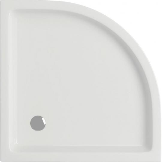 Cadita dus semirotunda Cersanit Tako panou integrat 80x80x6 cm