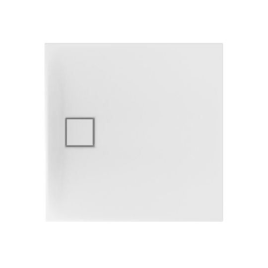 Set cadita dus patrata Cersanit Tako Slim 90x90x4 cm + Sifon cadita dus cu acoperire magnetica