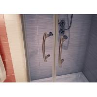 Cabina dus semirotunda Cersanit Ineba sticla grafit transparent 90x185 cm